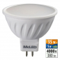 Preview: LED 5W, GU5.3, 4000K, MR16, CRI 80, 100°, 380lm